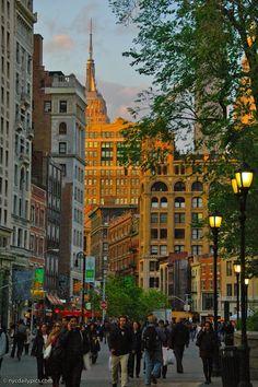 #Union Square #NewYork City