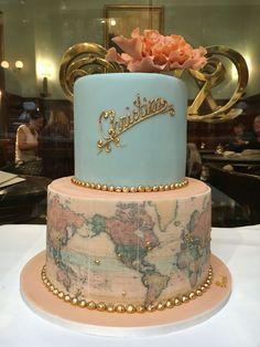 World Map Cake - Theresa Mühlegger - Demel