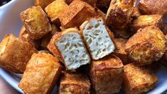 BEST BAKED TOFU The easiest and best method for crispy baked tofu, oil free!The easiest and best method for crispy baked tofu, oil free! Best Tofu Recipes, Tasty Vegetarian Recipes, Whole Food Recipes, Cooking Recipes, Best Baked Tofu Recipe, Recipes With Tofu Healthy, Roasted Tofu Recipe, Grilled Tofu Recipes, Firm Tofu Recipes