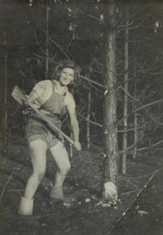 Lumberjill' dies just weeks after official recognition (From Your ...