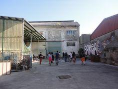 Artshow Collective curso de fotografia en Zorrozaurre, Bilbao