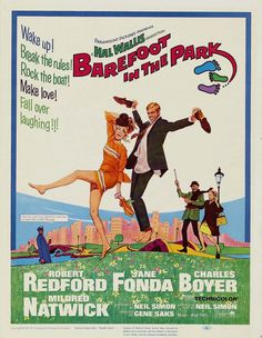 Barefoot in the Park is a 1967 American comedy film. Based on Neil Simon's 1963 play of the same title, it focuses on newlyweds Corie and Paul Bratter and their adventures living in a minuscule sixth ... Wikipedia Release date: May 25, 1967 (USA) Director: Gene Saks Running time: 106 minutes Initial DVD release: September 21, 1999 MPAA rating: G