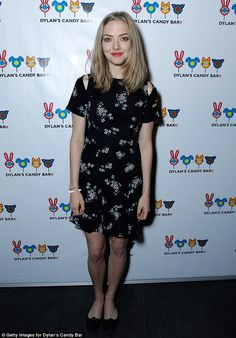 Sweet treat: Amanda Seyfried was on hand to celebrate the launch of Dylan's Candy Bar in L...