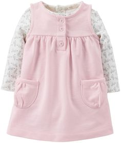 Amazon.com: Carter's Baby Girls' 2 Piece Jumper Set (Baby): Clothing