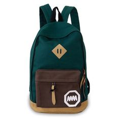 High Quality Canvas Women Backpack School Bags For Teenager Girls Mochila Fashion Female Travel Backpacks Casual Rucksack Bags Travel, Backpack Travel Bag, Black Backpack, Fashion Backpack, Fun Travel, New School Bags, School Bags For Girls, Style Preppy, Style Casual