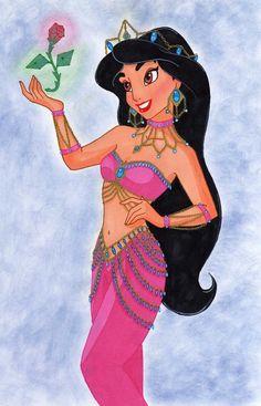 Disney Princess Jasmine Doll | Disney Princess Which fan art outfit suits Jasmine the best?