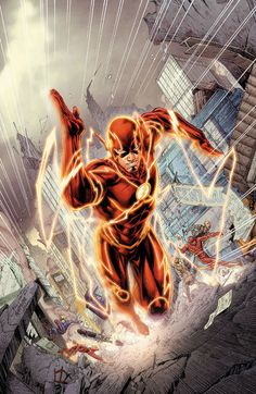(Comics Review) Two DC New 52 issues that are a good starting point for readers, as they begin new story arcs for Barry and Ollie: Flash #30 and Green Arrow #17