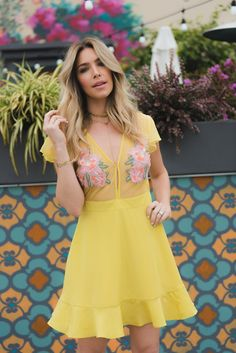 21c0b8125e81 Cleobella Cooper Dress. A chartreuse daydream come to life, Rocky's vibrant  energy always exudes