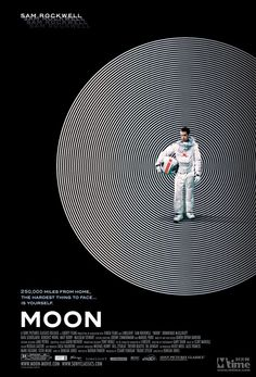 Moon. Crazy. Awesome. Definitely worth seeing, especially if you like 2001: A Space Odyssey or sci-fi in general.