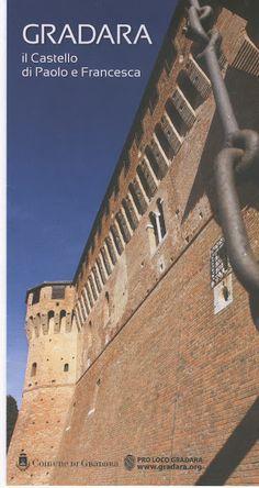 Gradara Castle the castle of Paolo e Francesca, 5 km from Cattolica, Adriatic Coast Italy.