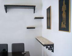Wall shelf perches