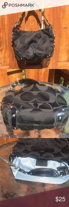 Coach Purse Coach Purse - very clean and good condition. Ink mark inside. Coach Bags Shoulder Bags