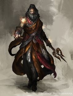"""Priest from """"Tales of the Ramayana"""" by Daniel Kamarudin (theDURRRRIAN)"""