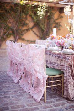 Pink-Ruffled-Chair-Covers wildflower-linen-melissa-jill-photography