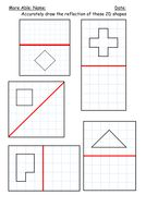 neue arbeitsbl tter zur drehsymmetrie mathematik mathe arbeitsbl tter und mathematik. Black Bedroom Furniture Sets. Home Design Ideas