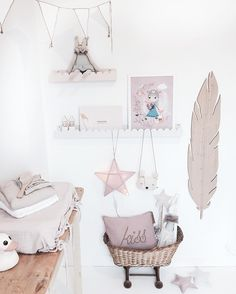 Magical nursery Numero74 changing pad, cushions, star lantern