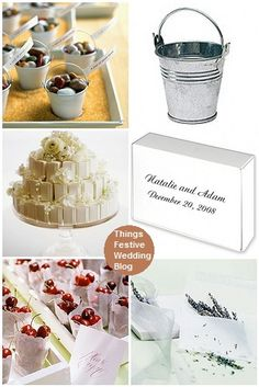 Creative Wedding Favor Display Ideas