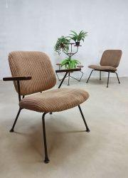 Vintage Industrial lounge chairs Kembo Gispen www.bestwelhip.nl