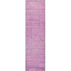 Bungalow Rose Rune Purple Area Rug Rug Size: