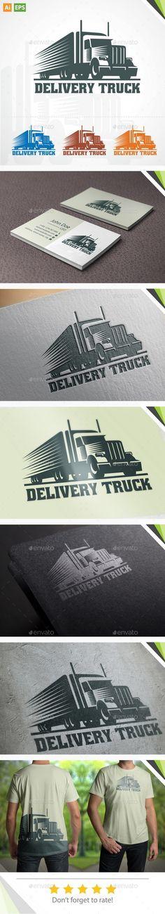 Delivery Truck Logo V.2