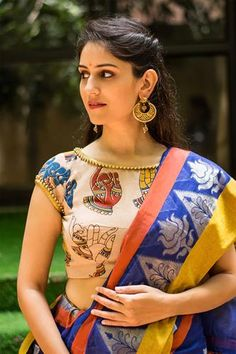 of Wearing Traditional Blouses? Do Not Miss These Trendy Boat Neck Blouse Designs of Wearing Traditional Blouses? Do Not Miss These Trendy Boat Neck Blouse Designs black blouse designs Top Latest and Trendy Blouse Designs For Saree Ready to shop blouses Kalamkari Blouse Designs, Designer Blouse Patterns, Fancy Blouse Designs, Saree Blouse Patterns, Bridal Blouse Designs, Latest Saree Blouse Designs, Latest Blouse Patterns, Indian Blouse Designs, Sari Design