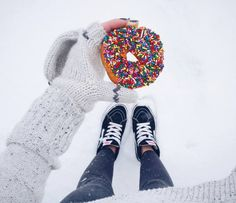 We can't say no to Sunday donuts. viaktnewms