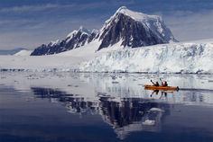 Kayaking at glacier bay in Alaska. This photo was part of These 12 Amazing Photos Will Make You Go Kayaking top gallery. Photo by: unknown