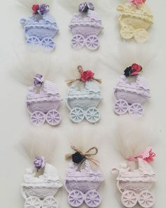 Baby Crafts, Diy And Crafts, Rainbow Roses, Soap Packaging, Wedding Cookies, Soap Recipes, Home Made Soap, Soap Making, Crochet Baby