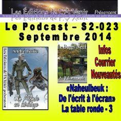 23e émission de la série 2 du Podcast des Éditions de L'À Venir