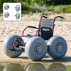BWCK4wheel Video Contest, Photo Contest, Large Cooler, Beach Cart, Manual Wheelchair, Jet Ski, Fun To Be One, The Great Outdoors, Cool Photos