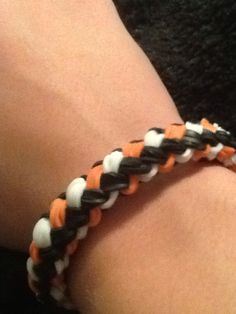 Rainbow Loom Bracelet- Double Braided