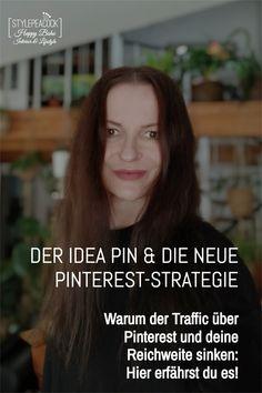 Reichweite durch Pinterest aufbauen war lange ein Erfolgsrezept. Doch die neue Pinterest-Strategie ändert alles: Tutorial-Plattform statt Suchmaschine? Wie sieht die neue Pinterest-Strategie aus? Welche Best-Practice-Richtlinien gibt Pinterest vor? Für wen ist das neue Format, der Idea Pin, interessant? Warum ist dein Traffic über Pinterest auf eine Website, deinen Shop oder einen Blog eingebrochen? Warum haben deine Pins keine Reichweite mehr? Hier gibt es Antworten rund um Pinterest. Pinterest Profile, Best Practice, Lifestyle Blog, German, Hacks, Interior, Writing, Search Engine Optimization, Platform