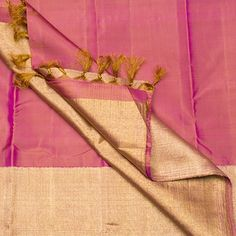 The perfect onion pink saree Kanakavalli - Parisera