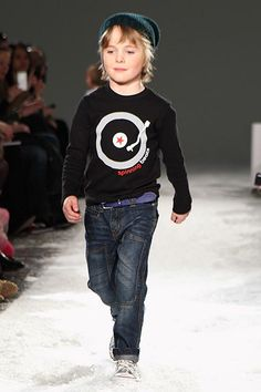 Fall 2012 kids fashion trends:  He's got the music in him. From Little Trendstar.