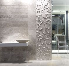 Stylish Wall Tile with 3D Effect by Lithea l Modern Tile