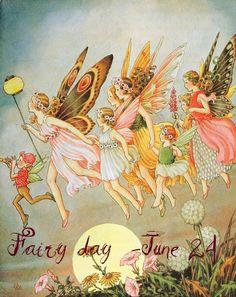 Art Nouveau Fantasy Fairies Art Print 8 x 10 - Fairy Illustration Fairy Dust, Fairy Land, Fairy Tales, Art And Illustration, Vintage Fairies, Fairytale Art, Flower Fairies, Magical Creatures, Faeries
