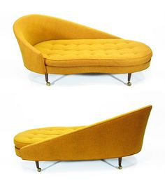 Adrian Pearsall Chaise Lounge Sofa