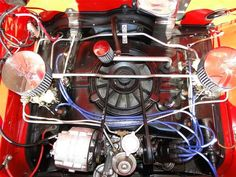 1964 Corvair Monza engine