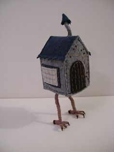 Baba Yaga's Chicken Leg House - Felt Creation by Melissa Sue