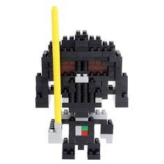 LOZ Diamond Blocks Star Wars Gift Series Nano Block 180 Piece Building Set - Darth Vader