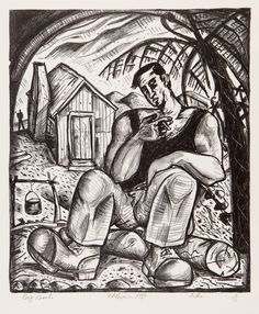 Vision and Heart (1988) | Nigel Brown - Painter & Printmaker