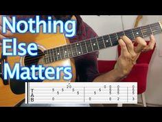 Nothing Else Matters - Metallica - Nasıl Çalınır Gitar dersi Guitar Lesson & Tutorial - YouTube