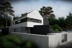 mode:lina architekci | architekt projekty wnętrz poznań | Fence House