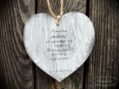 Heart with love-related quote, cut from plywood. Wooden Hearts, Dog Tag Necklace, Diy And Crafts, Plywood, Quote, Hardwood Plywood, Quotation, Qoutes, Wood Veneer