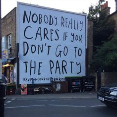 nobody really cares if you don't go to the party - rsvp courtney barnett