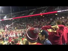 Liked on YouTube: Stanford Celebrates 2015 Big Game Win