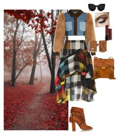 """Autumn foliage"" by denee-davis on Polyvore featuring Preen, Sonia Rykiel, Delalle, UGG, Aquazzura and Chloé"
