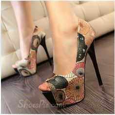 db6081f45 Fashionable Sweet Girl Pastoral Peep Toe High Heel Shoes. Fashion77  Fashion77 · sweet · Sweet Flat Heels Women Slippers with Flower ...
