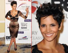 "Halle Berry in her ""Signature Look""! LOVE LOVE"