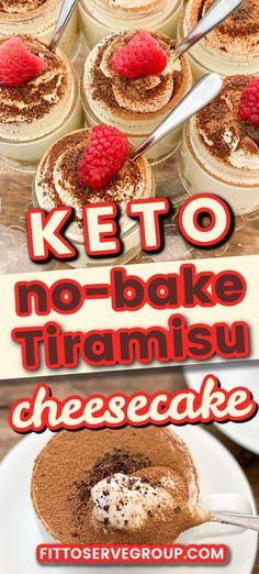 Keto tiramisu no-bake cheesecake is so easy to make and so delicious you'll be remaking it often! It's the easiest keto tiramisu cheesecake and it's a no-bake keto dessert! Rich, smooth, creamy, airy, keto-friendly, and flat-out decadent! keto tiramisu cheesecake| low carb tiramisu cheesecake| sugar-free tiramisu| no-bake tiramisu